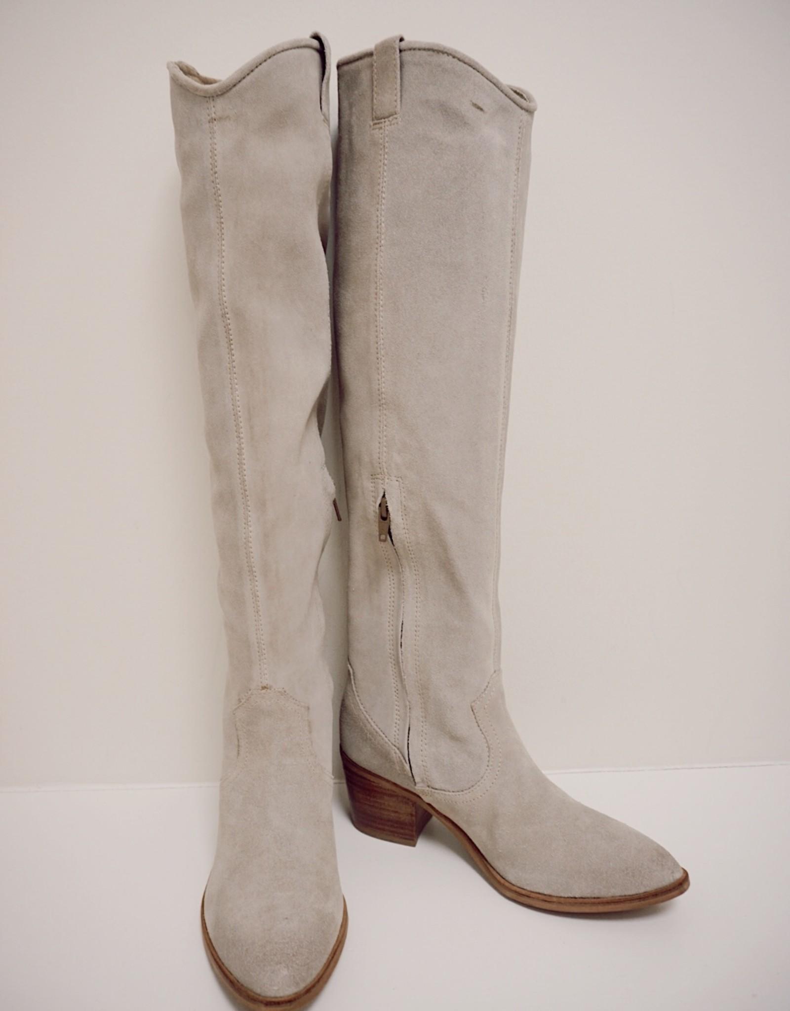 Izzy Over the Knee Heeled Boot