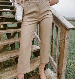 Orion Faux Leather Pants