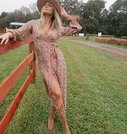 Julie Wrap Dress