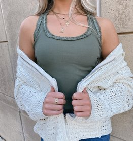 Cindy Sleeveless Knit Top