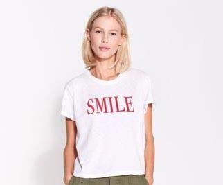 Sundry Sundry Smile Tee