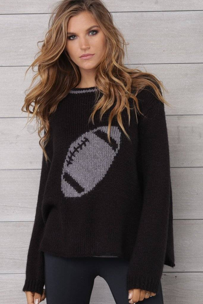 Wooden Ships Wooden Ships Football Sweater