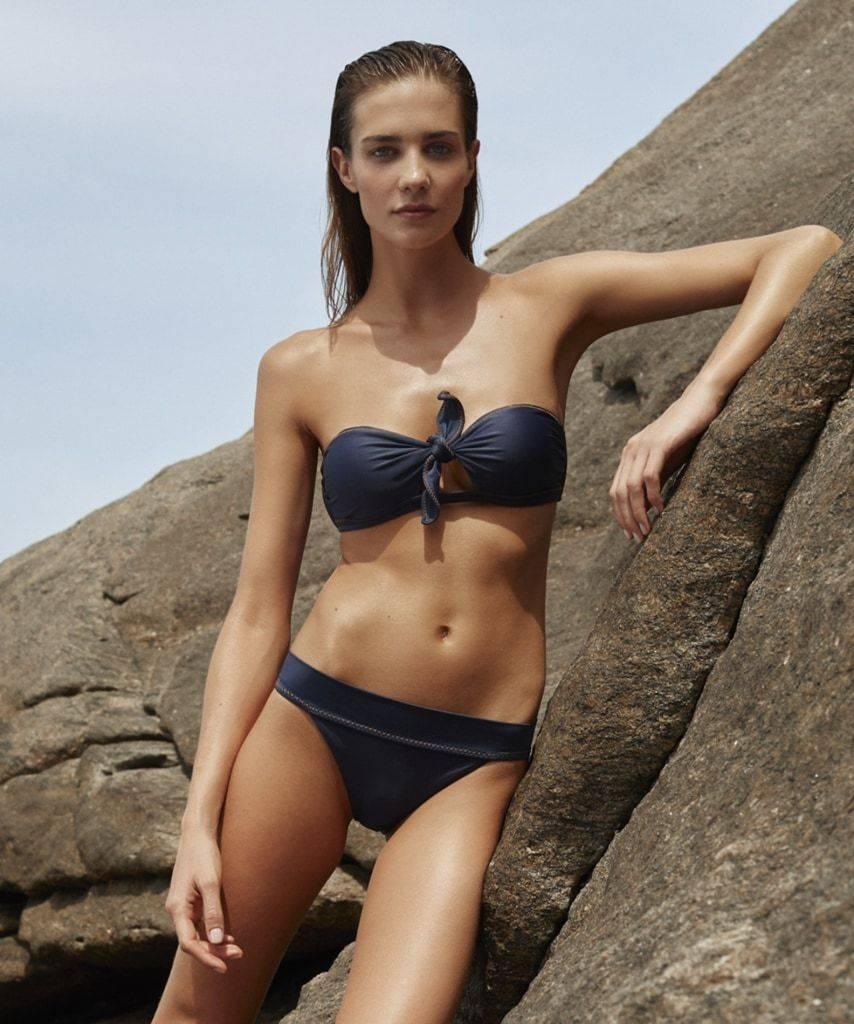 Vix Vix Cutout Bandeau Swim Top