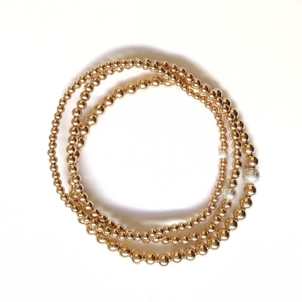 Pliers & Strings Pliers Caviar Bracelet Trio