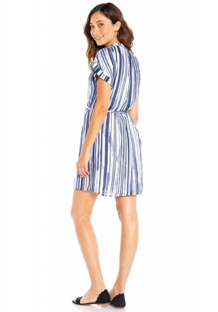 Bella Dahl Bella Dahl Blue Stripe Dress
