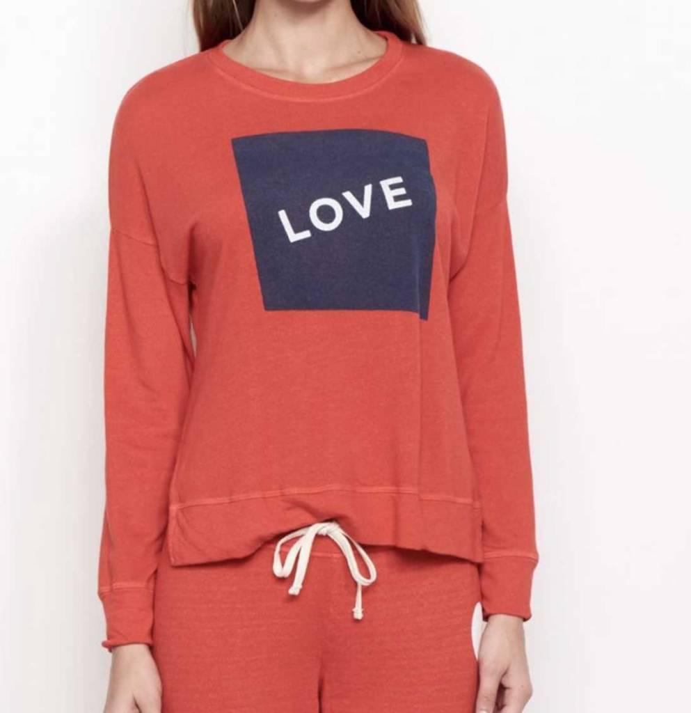 Sundry Sundry Love Sweatshirt