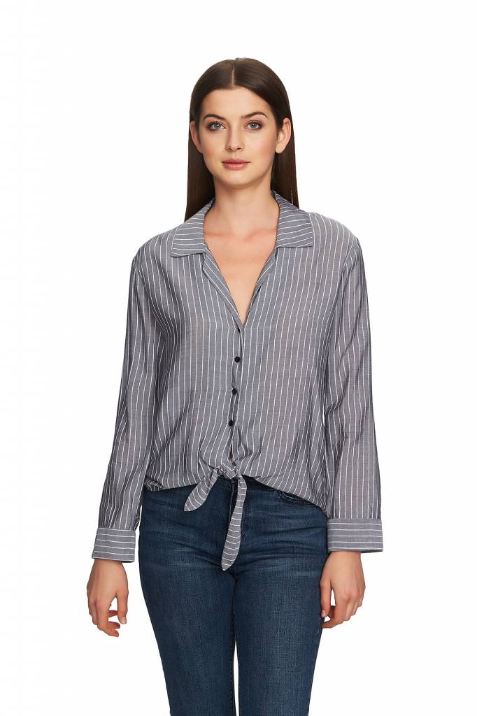 One State One State Striped Blouse