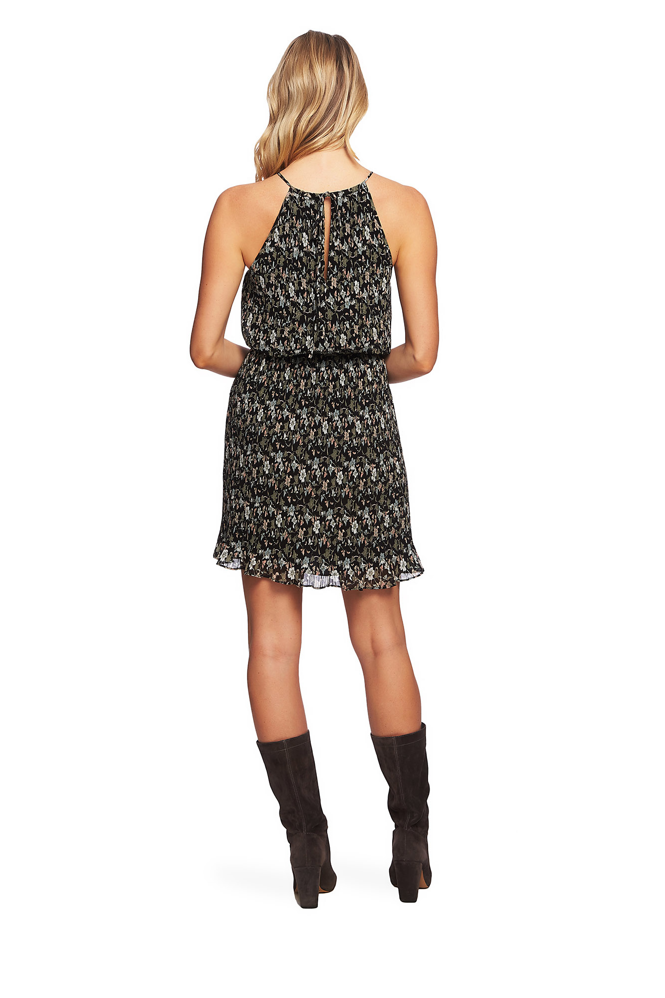 One State One State Pleated Dress