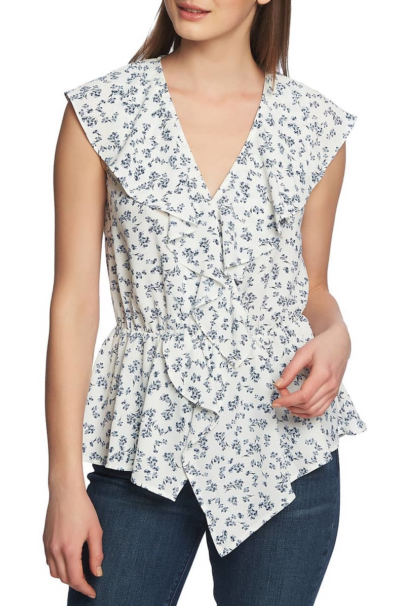 One State One State Flounce Blouse