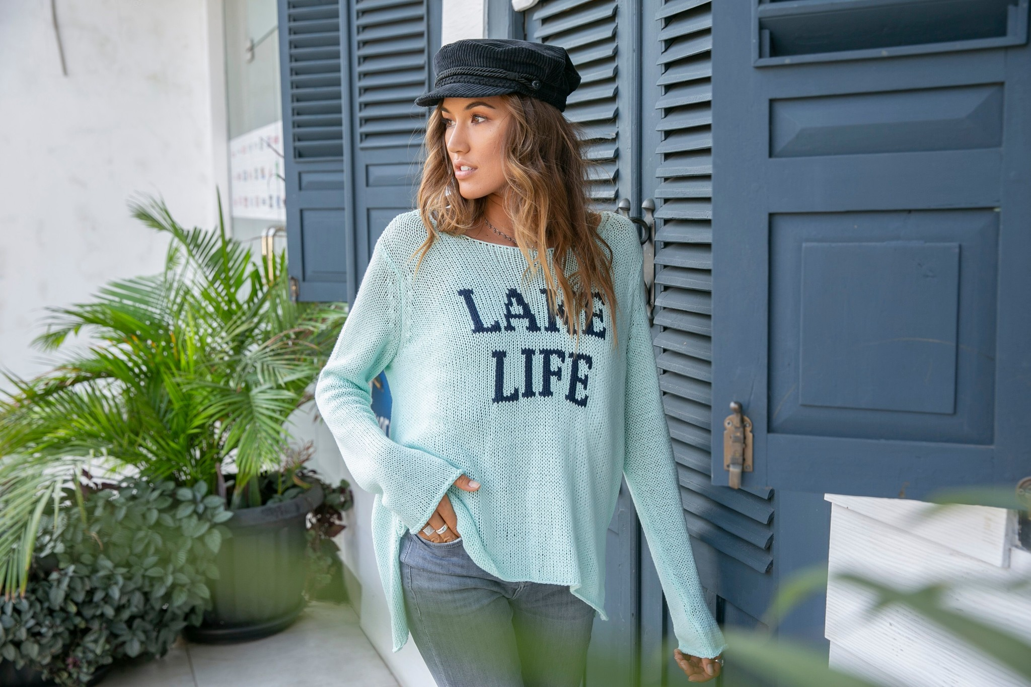 Wooden Ships Wooden Ships Lake Life Sweater