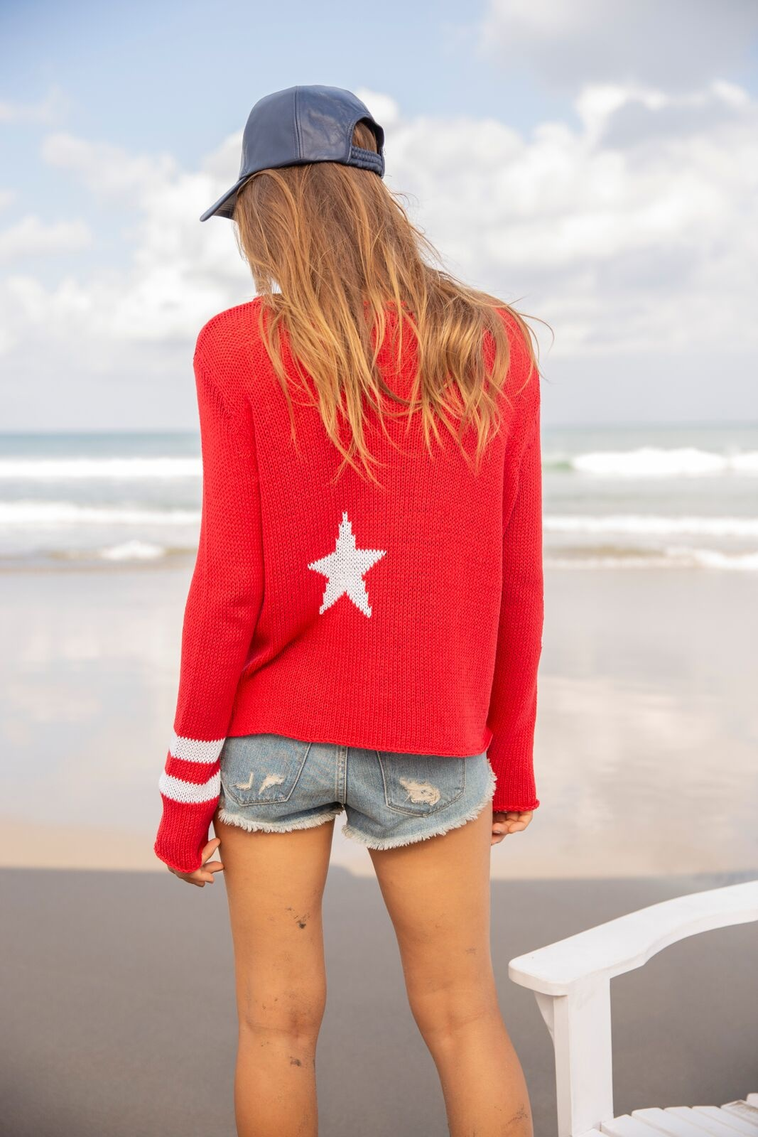 Wooden Ships Wooden Ships Stars and Stripes Sweater