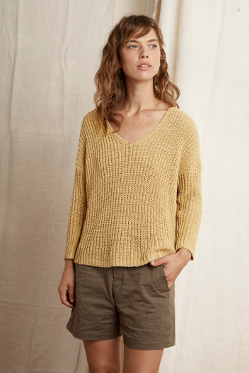 Velvet Velvet Vneck Sweater