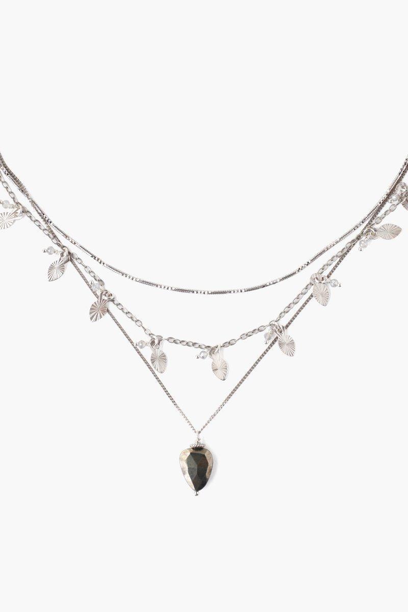 Chan Luu Chan Luu Mix Leaf Charm Necklace