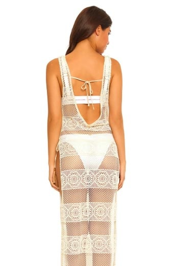 Pily Q Pily Q Lace Cover Up