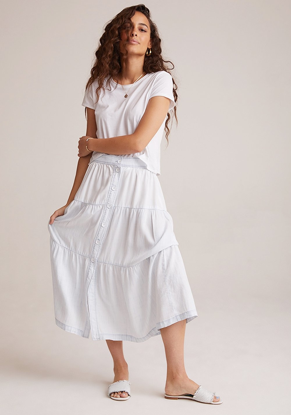 Bella Dahl Bella Dahl Tiered Skirt