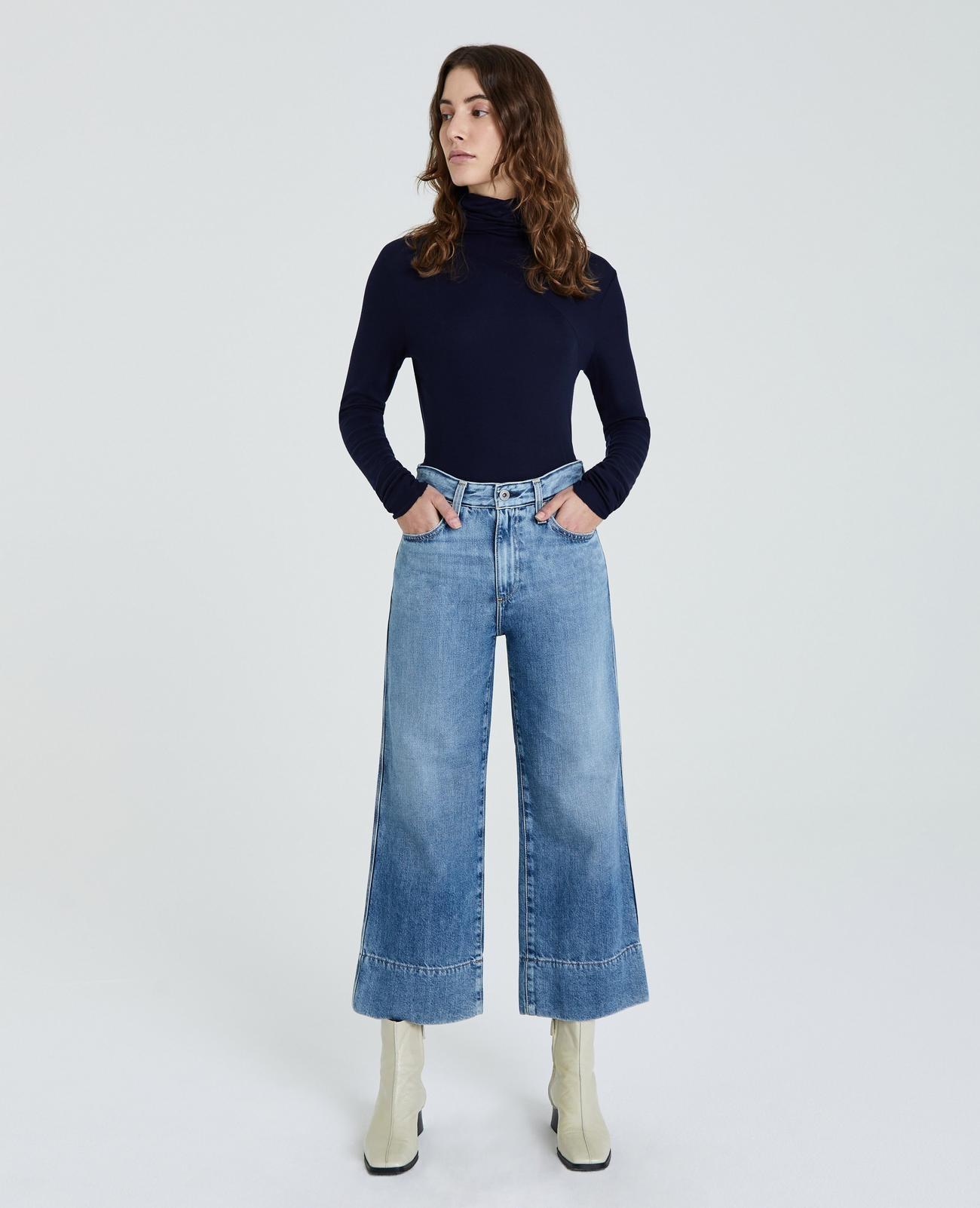 AG AG Etta Wide Leg Crop