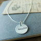 BCG BCG Round Sterling Silver Necklace