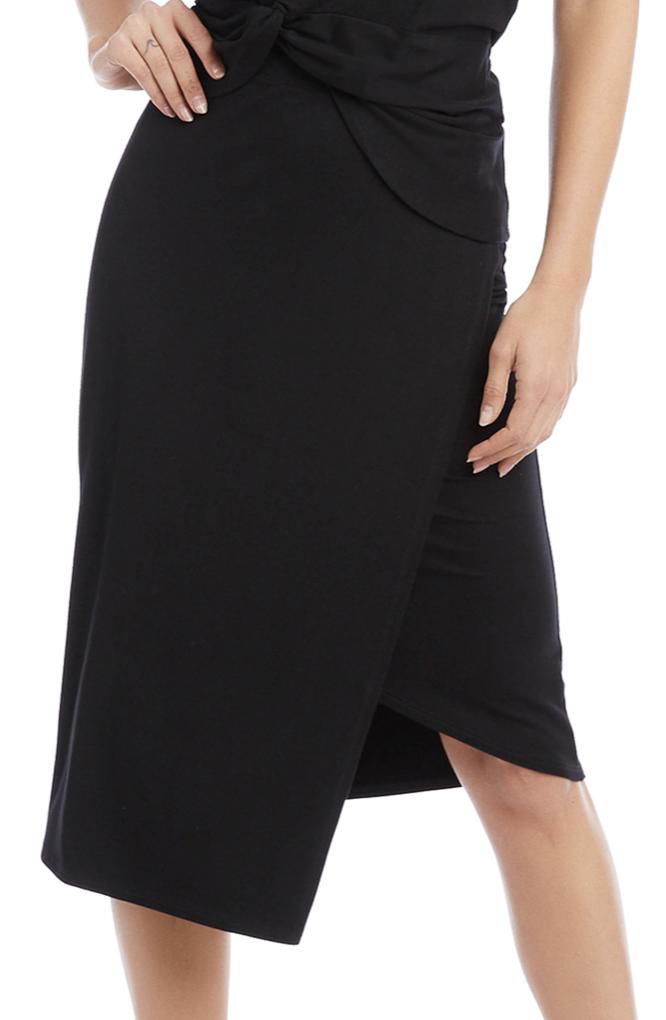 Fifteen-Twenty Fifteen Twenty Faux Wrap Skirt