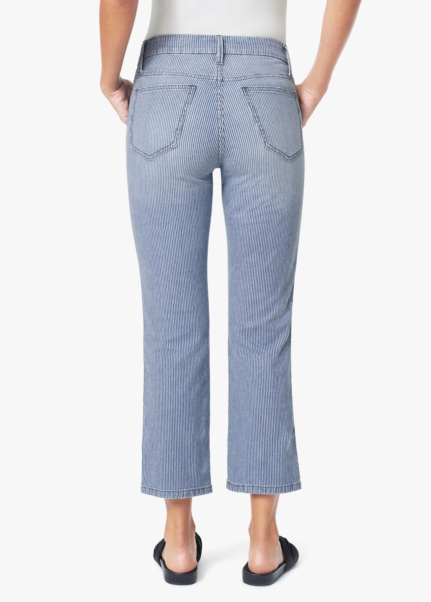 Joe's Joe's Stripe Trouser Crop Slim Kick