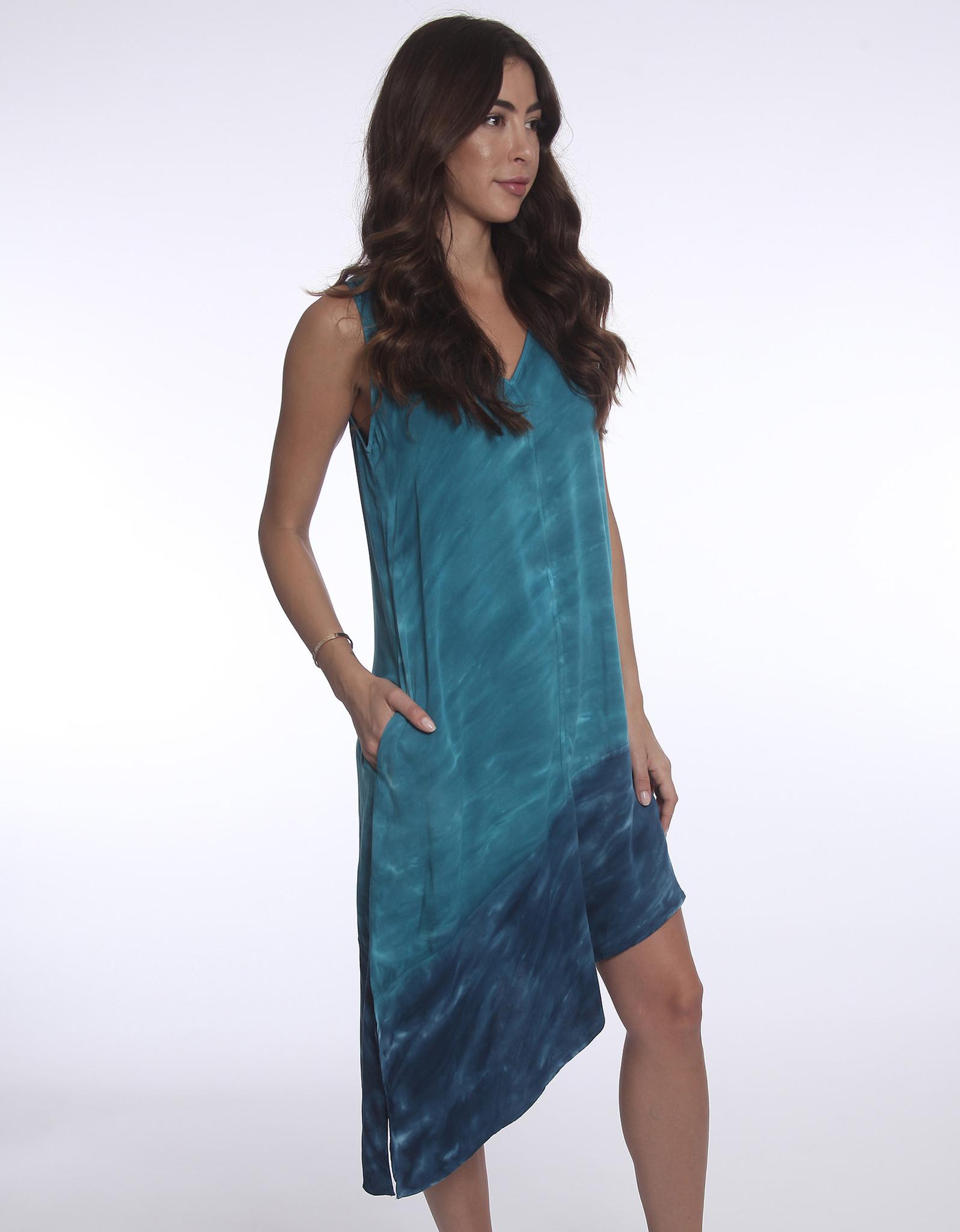 River & Sky River & Sky Tie Dye Aysem Dress
