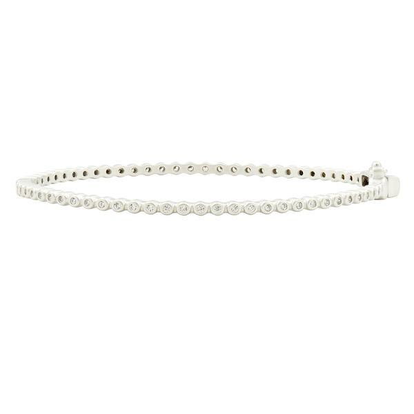 Freida Rothman Freida Rothman Pave  Single Hinge Bracelet