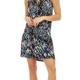 Veronica M Veronica M Dropwaist Keyhole Dress