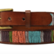 Aspiga Aspiga Vertical Stripe Beaded Belt