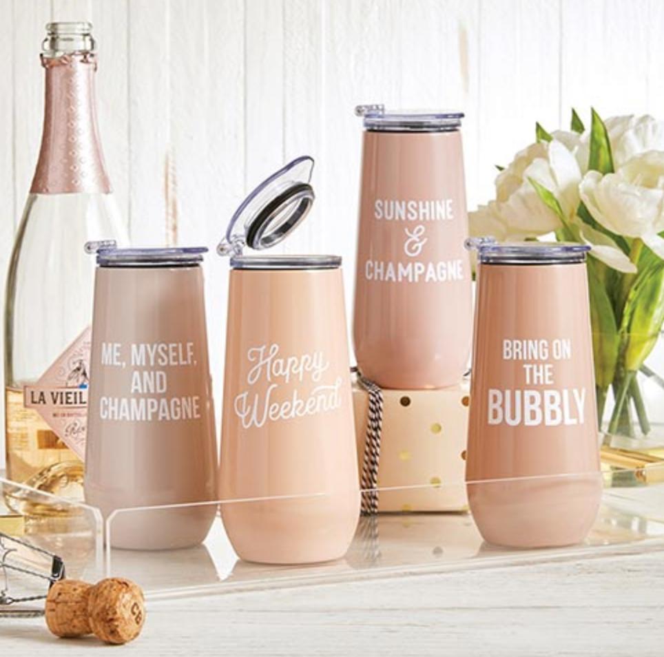 "Creative Brands Creative Brands ""Weekend"" Champagne Tumbler"