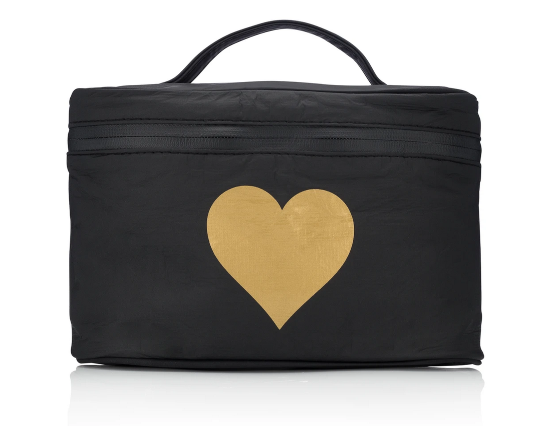 Hi Love Hi Love Travel Heart Cosmetic Case