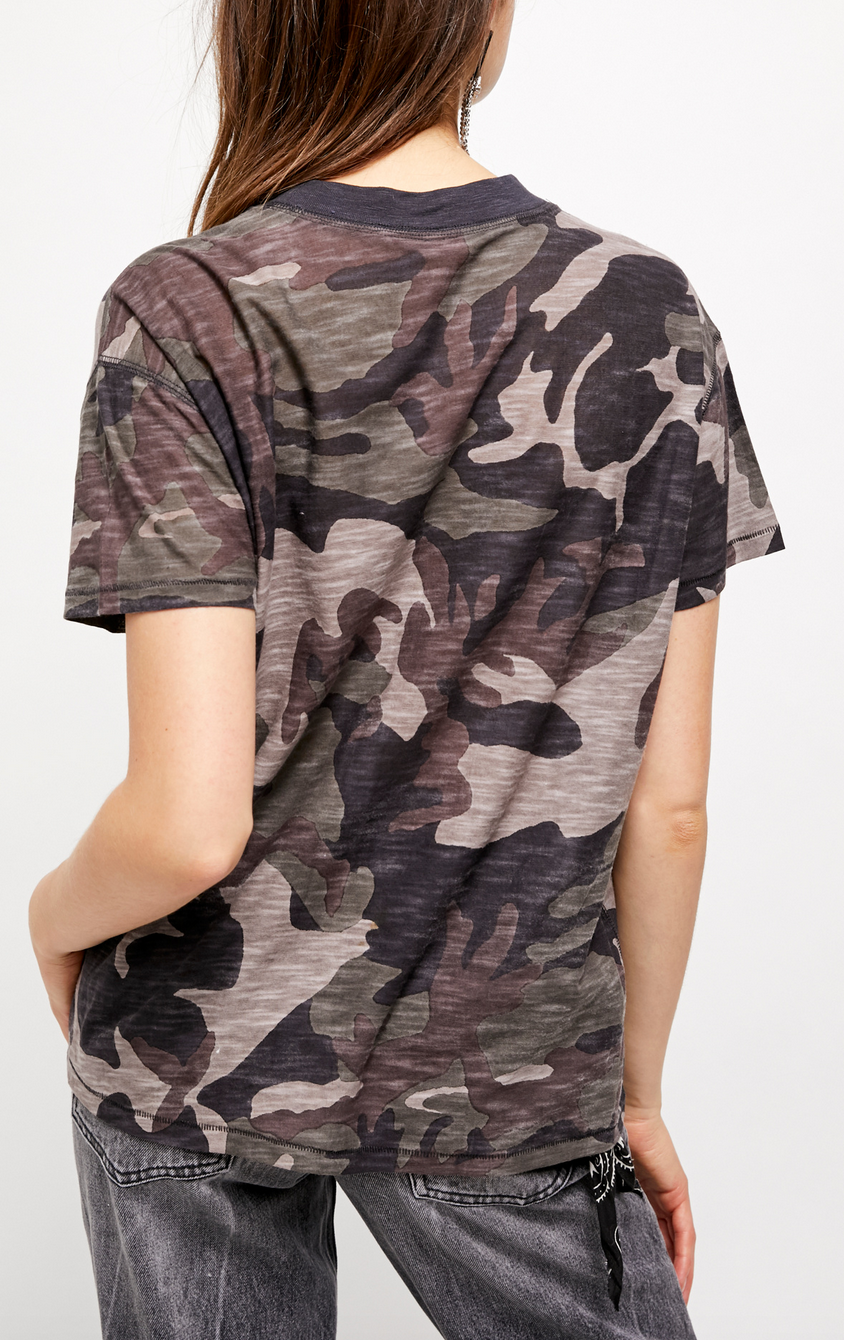 Free People Free People Maybelle Camo Tee
