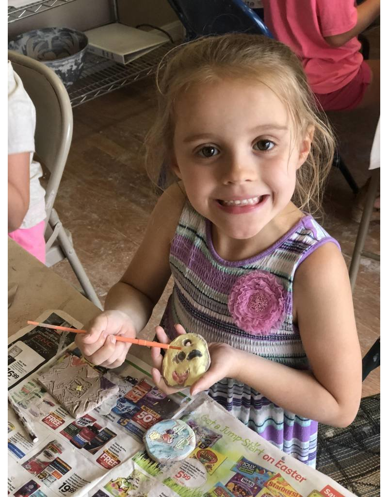 Kylee Mitchell Kids Clay Camp - Select Days  Fall/Winter 2018/19