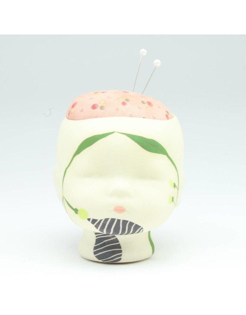 Laura George Lynch Laura George Lynch - Doll Head Pin Cushion