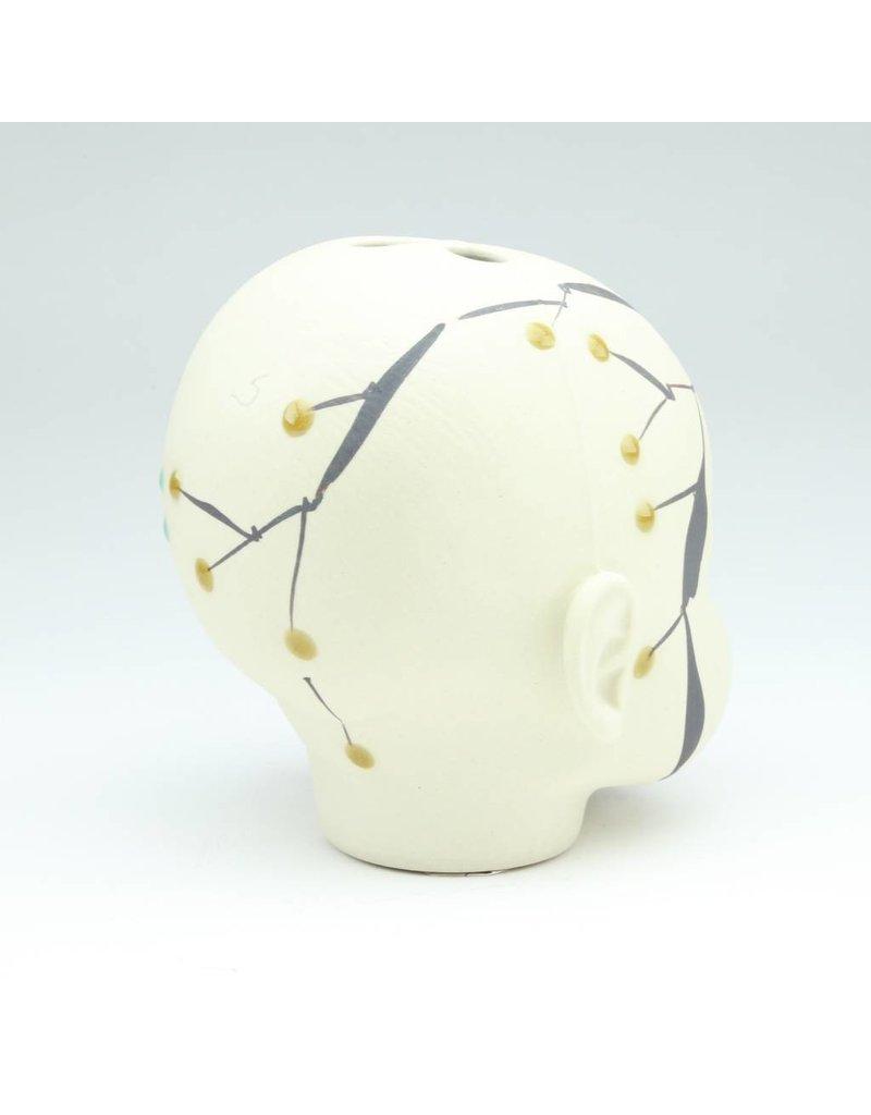 Laura George Lynch Laura George Lynch - Large Doll Head Vase