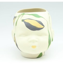 Laura George Lynch Laura George Lynch - Medium Doll Head Planter