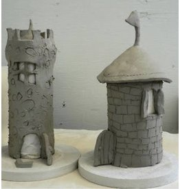 Play Doh Style Clay Date - Castles