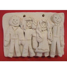 Kylee Mitchell Play Doh Style - Family Portraits - March 23