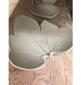 Sharon Ramick Build by Hand Clay Date - Leaf Plate - June 29