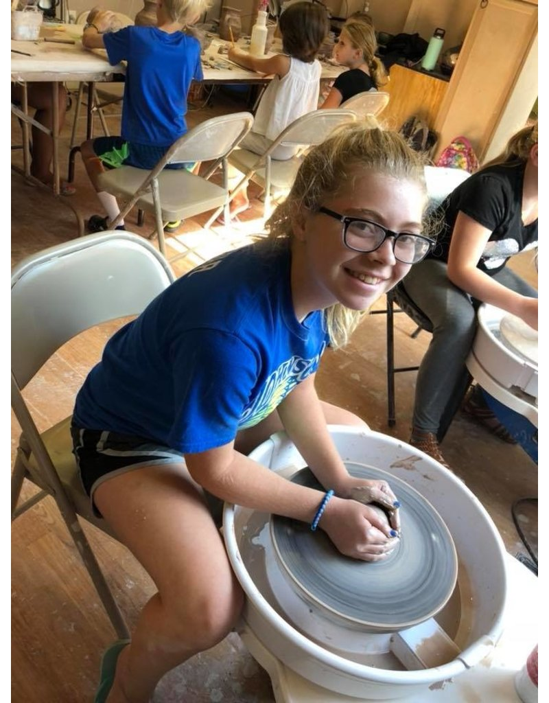 Kylee Mitchell Teen Ceramics Saturday Afternoons Beginning July 27