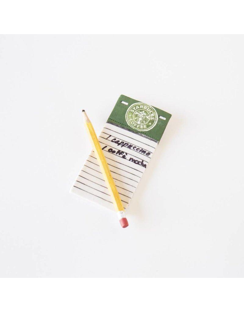 Suzanne Sidebottom Suzanne Sidebottom - Pad, Pencil - Starbucks