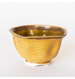 Thomas Mooneagle Thomas Mooneagle - Lobed Yellow Bowl