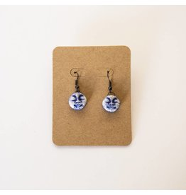 Sharon Ramick Sharon Ramick - Blue Face Earrings