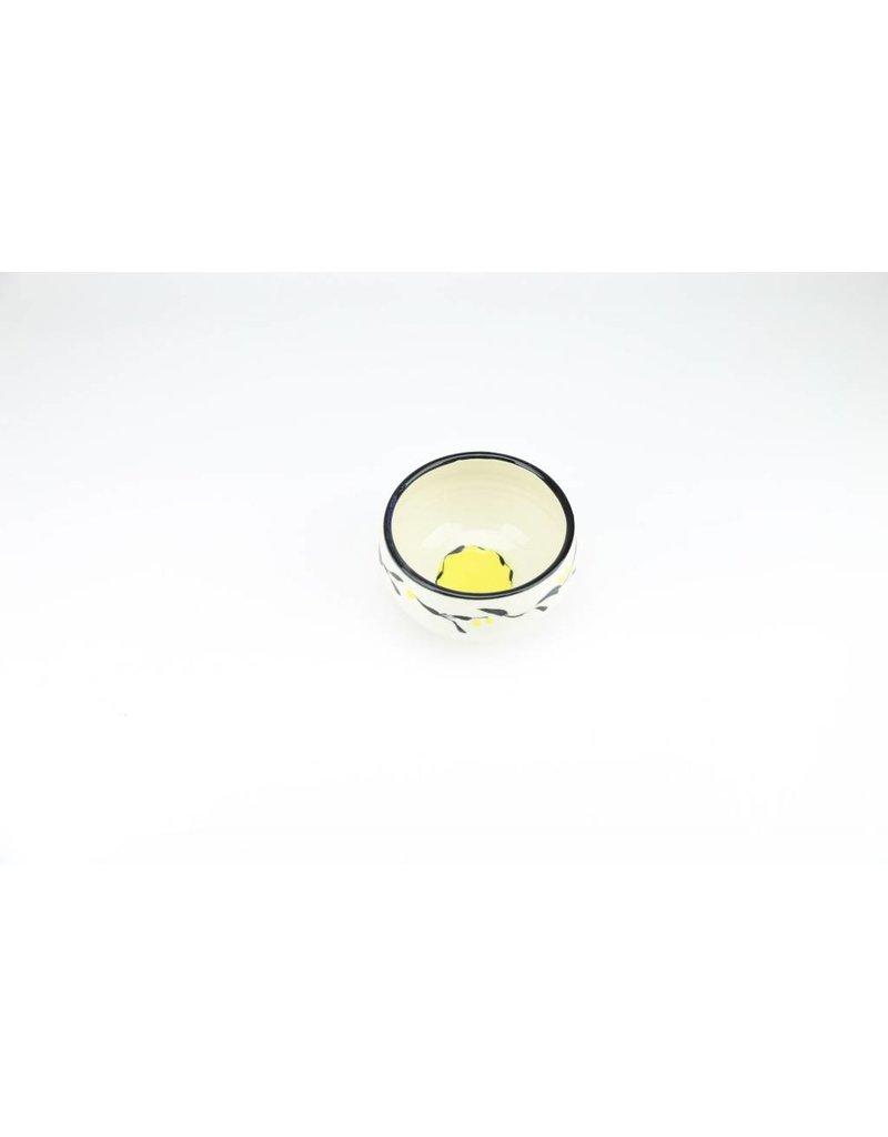 Linda Bowman Linda Bowman - Cereal Bowl - Leaf Design