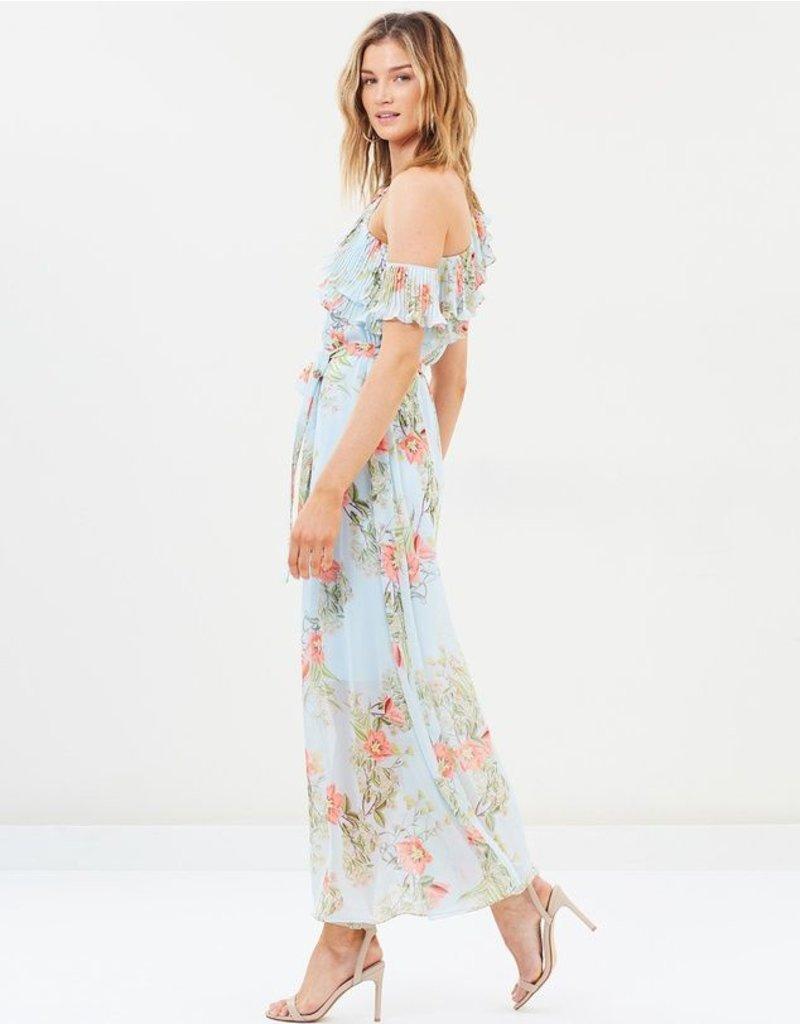 Cooper St Cooper st Blooming one shoulder maxi dress
