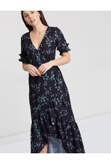 Cooper St Cooper St Firefly tie maxi wrap dress