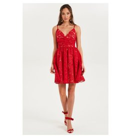 Cooper St Cooper st Dancer fit and flare lace dress