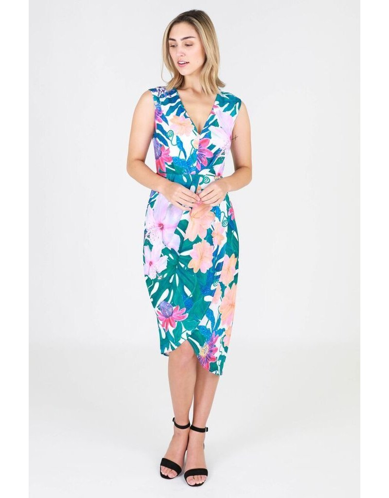 3rd Love The Label Eve drape dress
