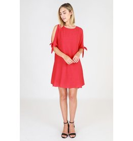 a56bc43a2f5022 3rd Love The Label Sirrily cold shoulder shift dress