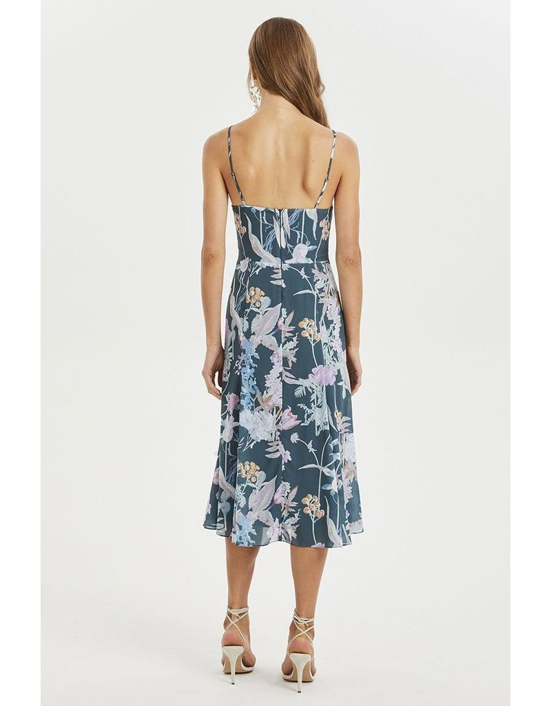 Cooper St Cooper St Pine Grove Twist Midi Dress