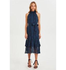 Cooper St Maiden High Neck Frill Dress