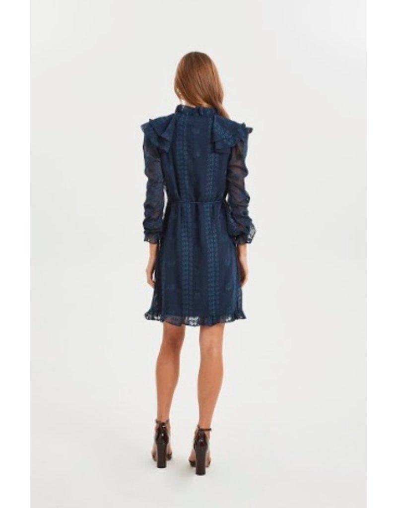 Cooper St Maiden Tie Waist Frill Dress